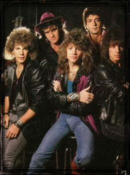 The Bon Jovi Band 80 s