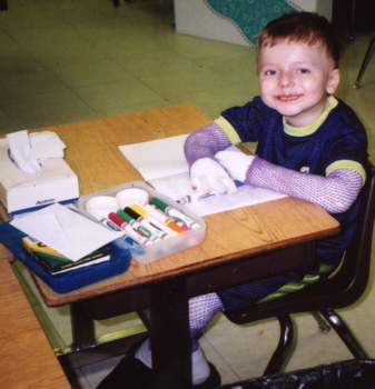 Nicky in first grade